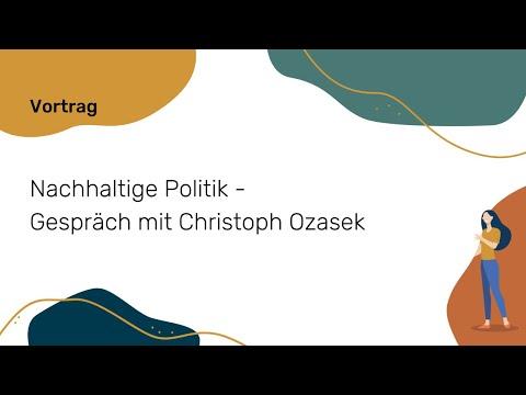 Nachhaltige Politik - Gespräch mit Christoph Ozasek   NWB