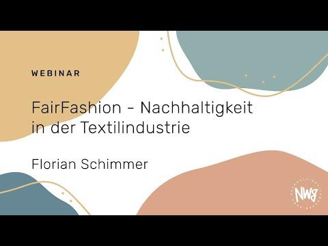 FairFashion - Nachhaltigkeit in der Textilindustrie (Florian Schimmer)   NWB