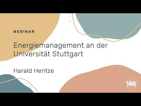 Energiemanagement an der Universität Stuttgart (Harald Hentze)   NWB