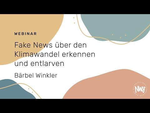 Fake News über den Klimawandel erkennen und entlarven (Bärbel Winkler)   NWB