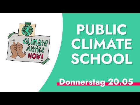 Public Climate School – Donnerstag 20.05 – Klimabildung für alle!