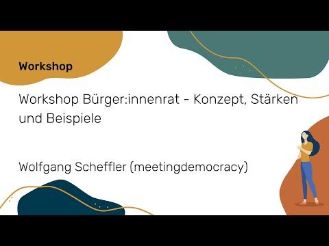 Bürger:innenrat - Konzept, Stärken und Beispiele   NWB